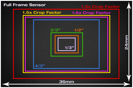 Deciding on Full Frame Sensor vs Crop Sensor - MyPhotoCentral