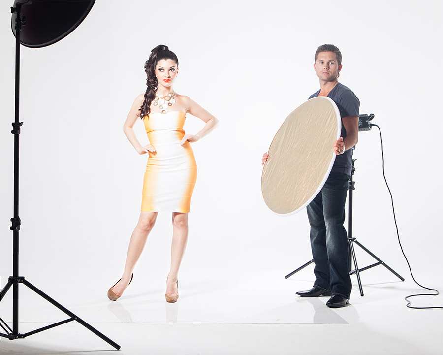 how to make a reflector photography