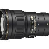 FX-format AF-S NIKKOR 300mm f/4E PF ED VR telephoto lens