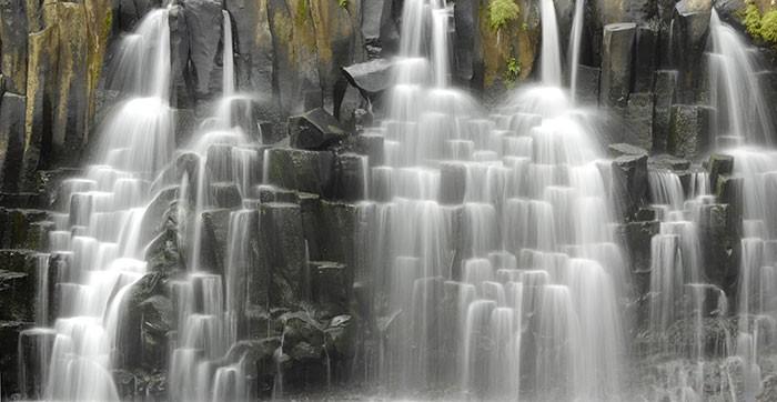 natural density filter waterfall