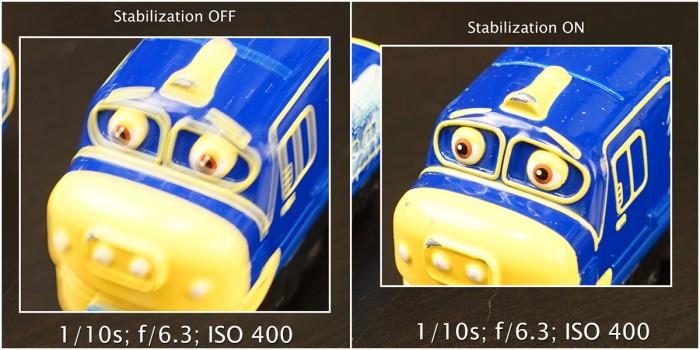 sony a7ii stabilization