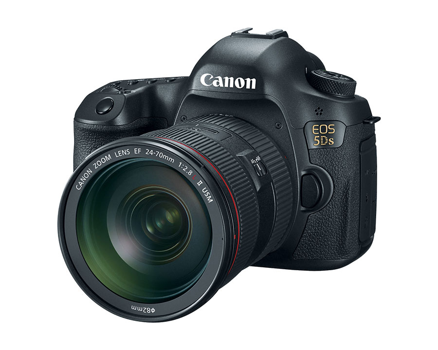 Canon 5DS and 5DS R camera
