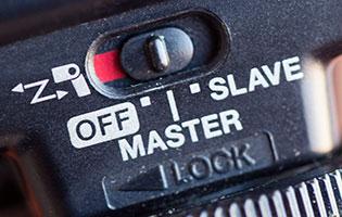 Speedlite master-slave unit