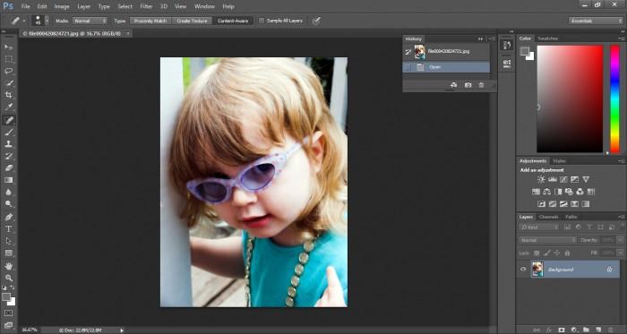 adding reflection in sunglasses