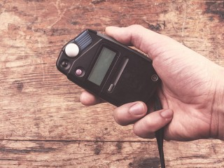 How to use light meter