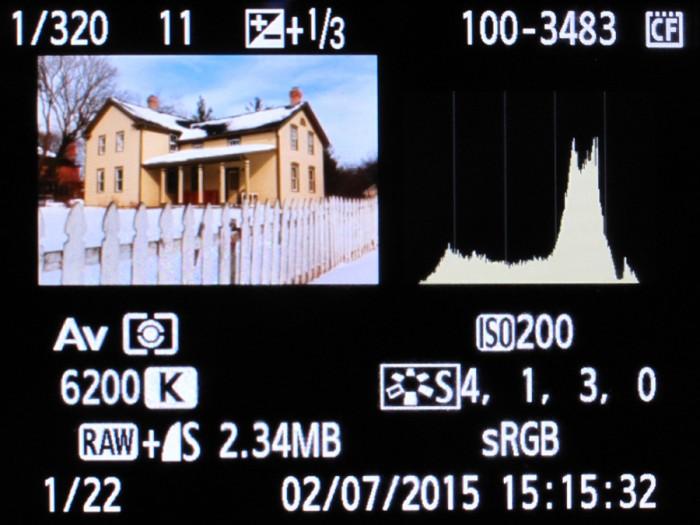Camera Hisogram
