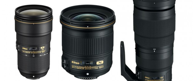 Nikon New Lenses