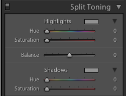 Understanding Split Tones in Lightroom