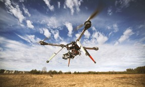 Using drones for landscape photography